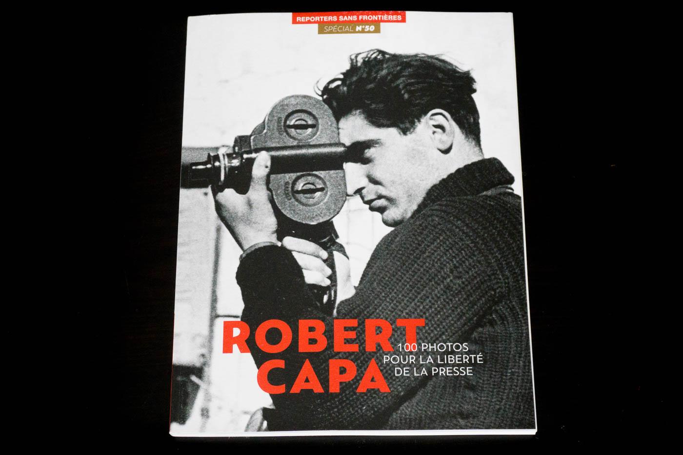 Album Reporters sans frontières : 100 photos pour la liberté de la presse  spécial Robert Capa