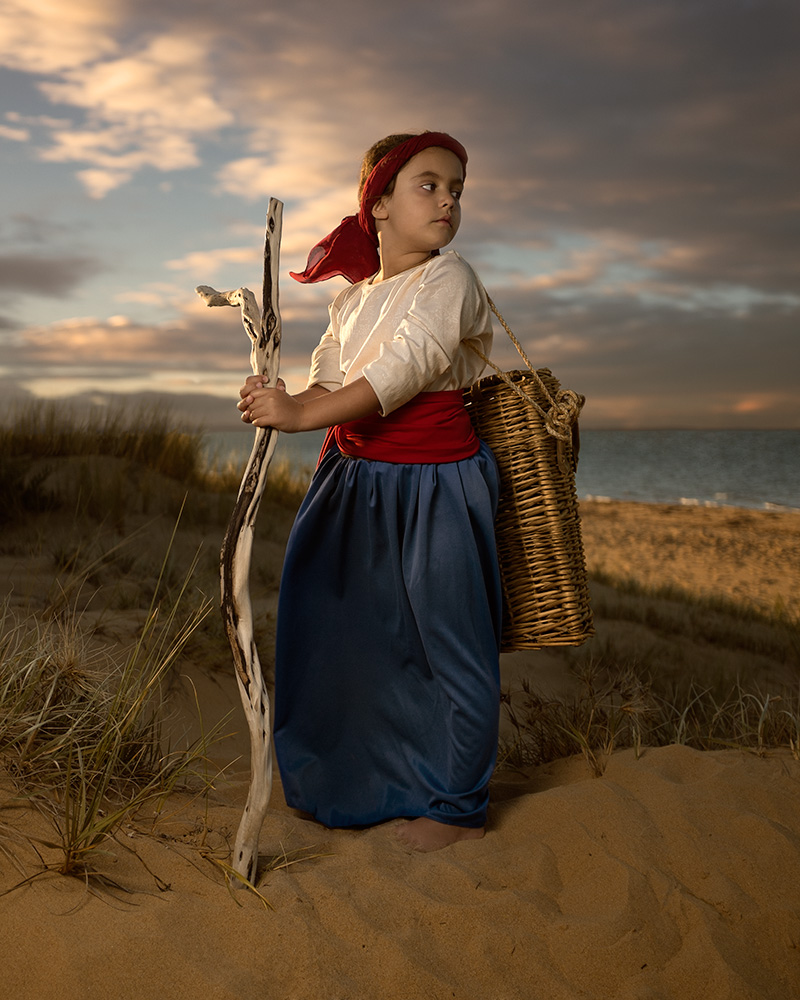 """""""Silverleaves"""" - Image réalisée par Bill sur une belle plage australienne avec sa fille Athena"""