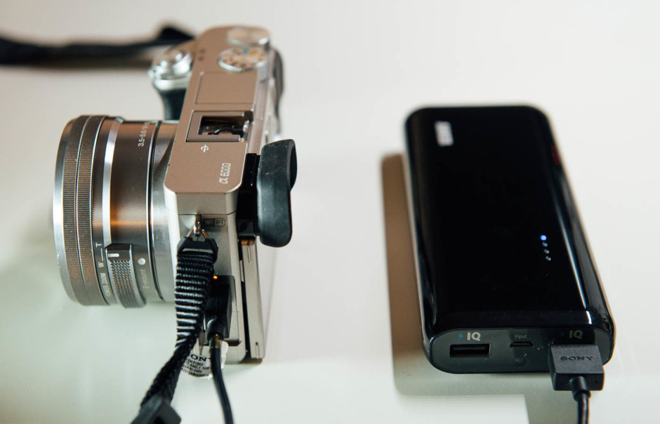 Chargeur USB Sony A6000