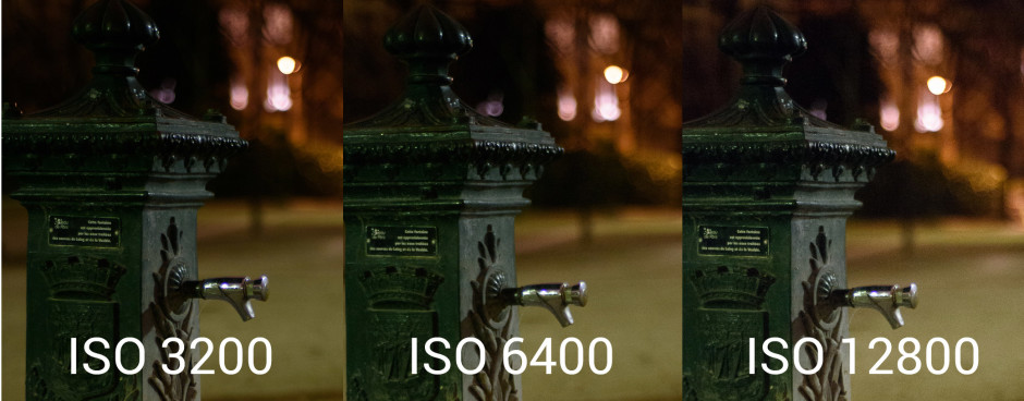 Comparatif ISO