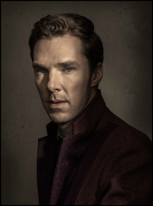 Portrait de Benedict Cumberbatch par Dan Winters