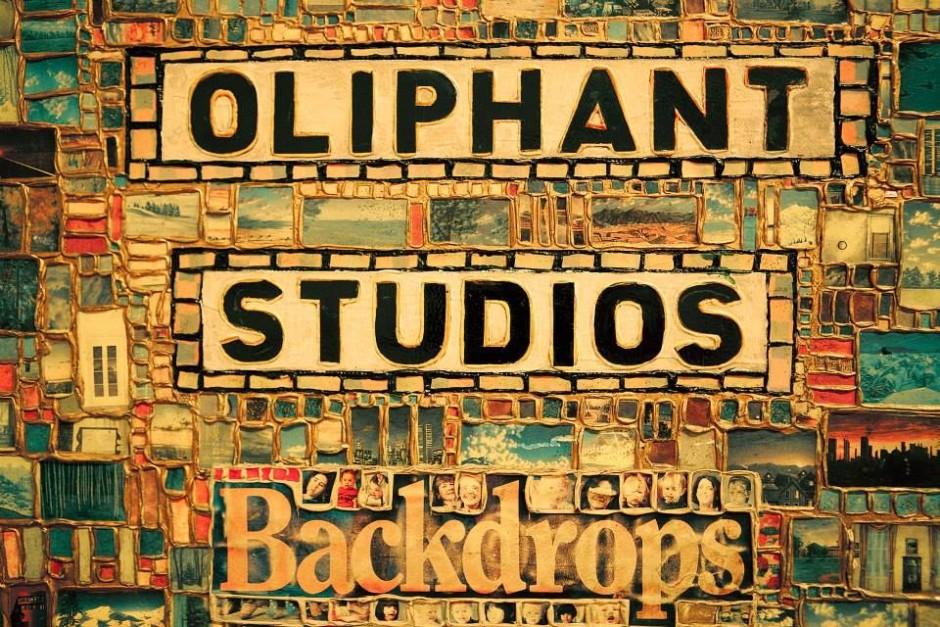 Fond de studio Oliphant
