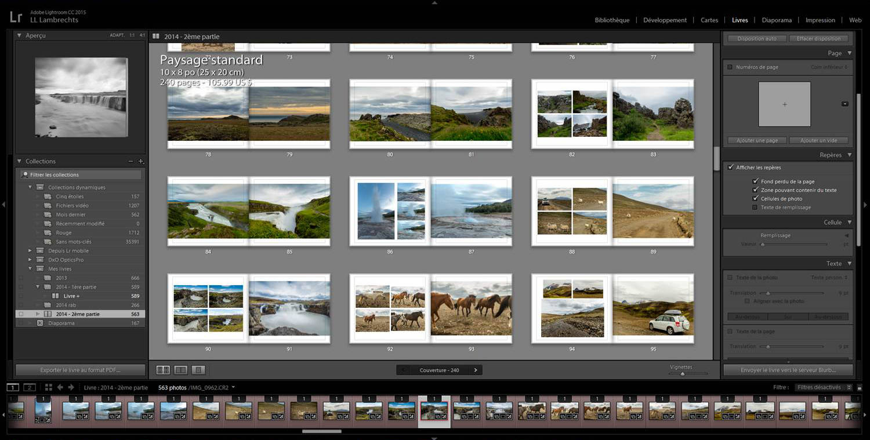 Témoignage : utiliser le module Livre de Lightroom pour être un meilleur photographe