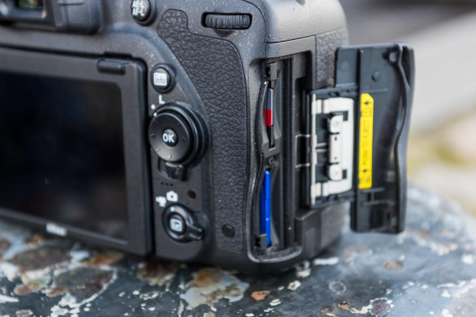 Nikon D750 cartes