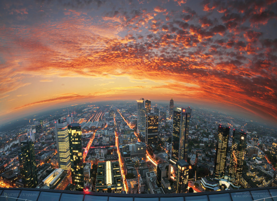 Above the Skyline by Mostafa Hamad