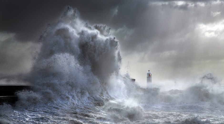 Stormy Porthcawl by Steve Garrington