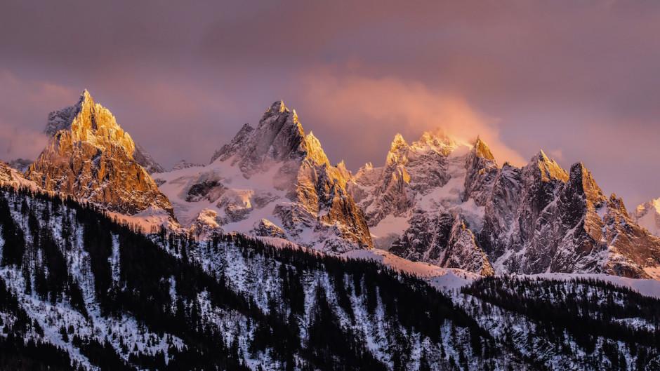 © Julien Malbert - Les Aiguilles de Chamonix (Haute-Savoie)