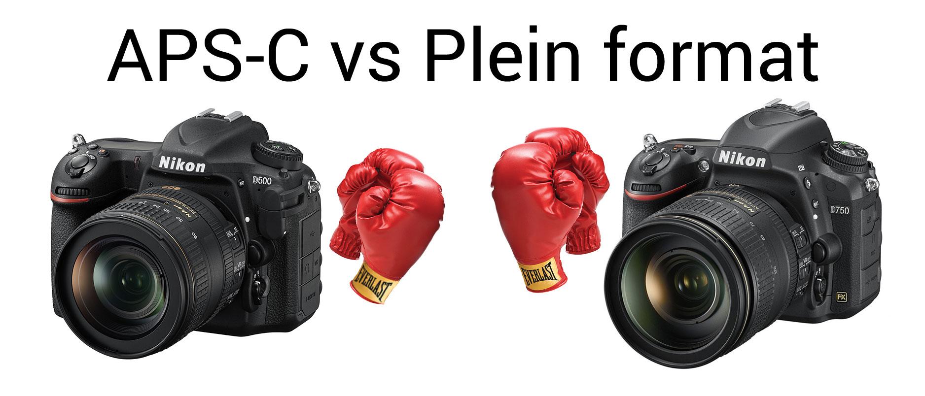 MP #159 : Pourquoi choisir un reflex APS-C plutôt qu'un reflex plein format ?