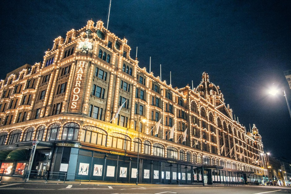 Desert in London / Harrods - © Genaro Bardy