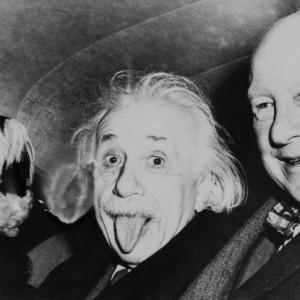 Albert Einstein, 14 mars 1951 par Arthur Sasse, New Jersey