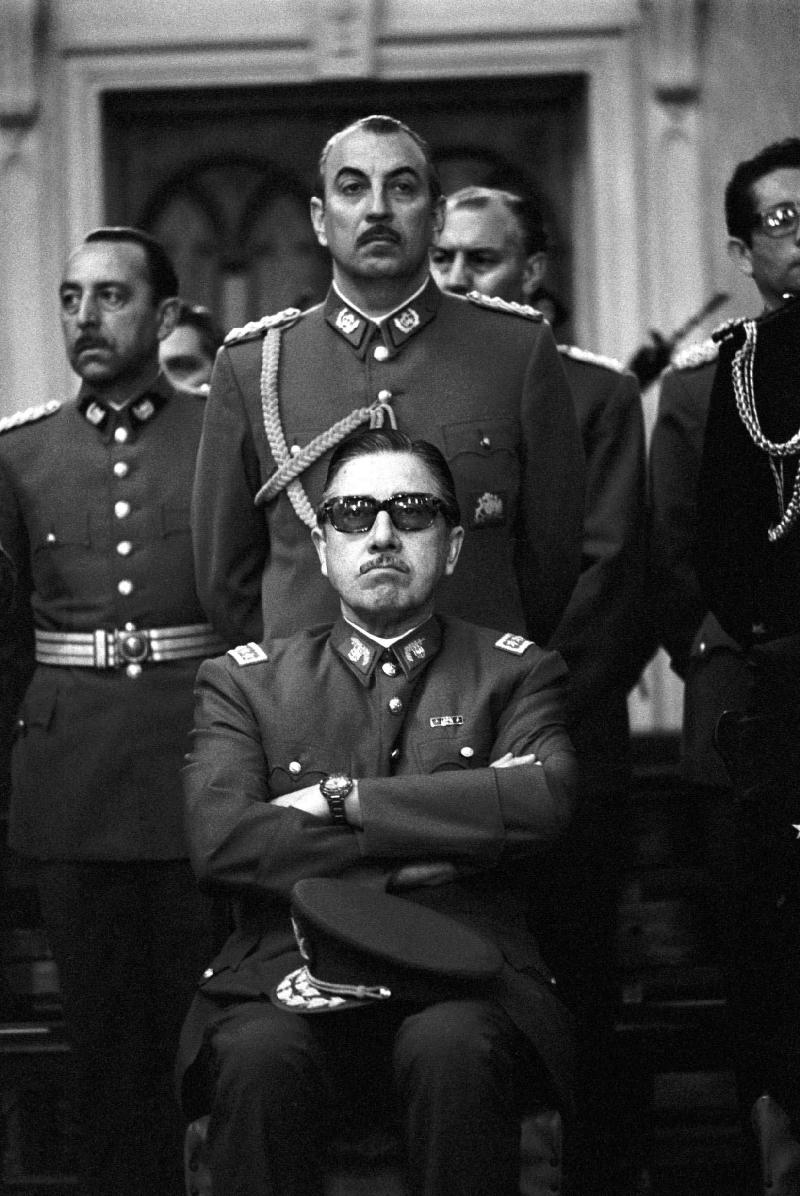 Pinochet, Chas Gerretsen, 1973, Chili