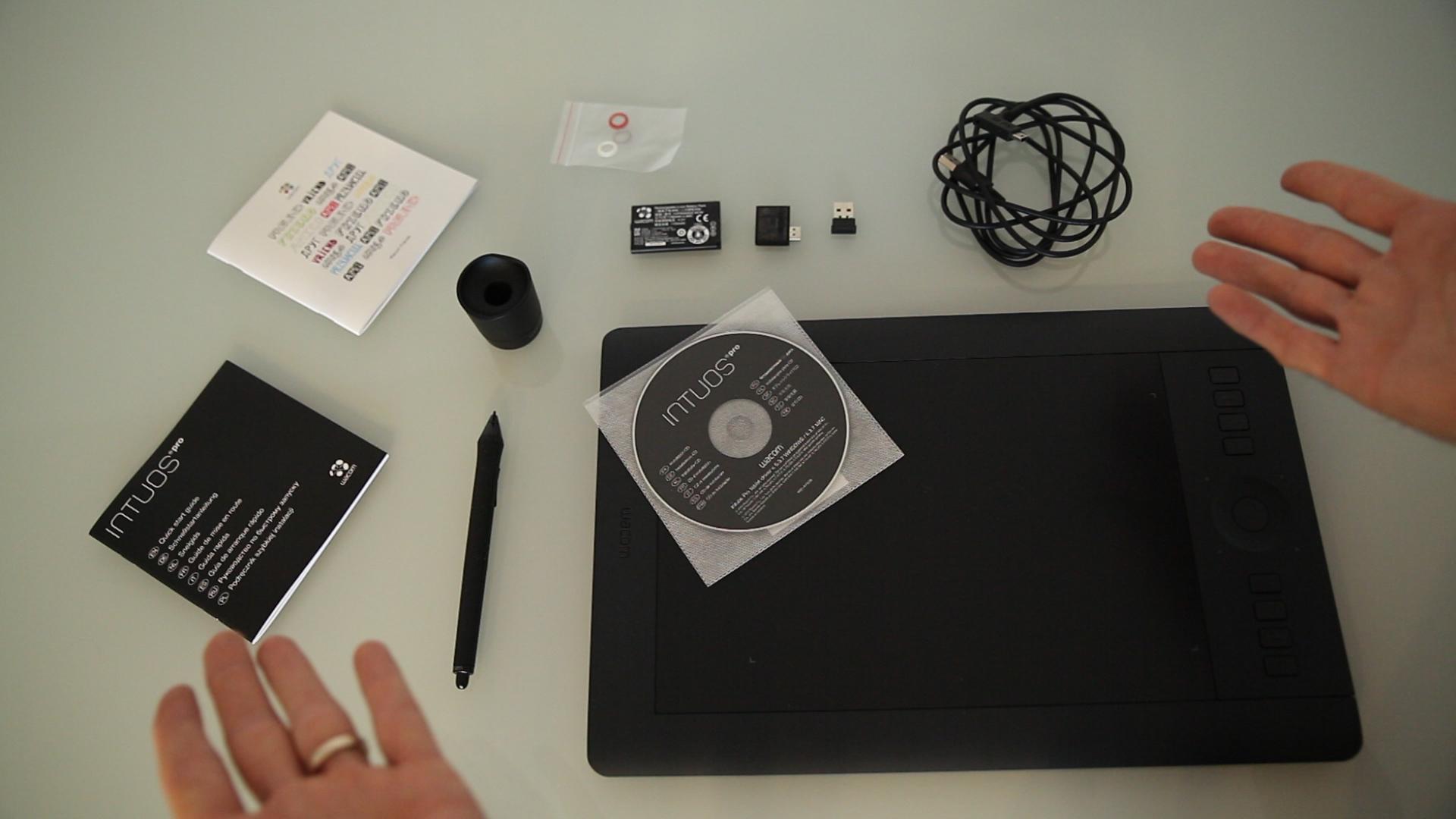 test de la tablette graphique wacom intuos pro. Black Bedroom Furniture Sets. Home Design Ideas