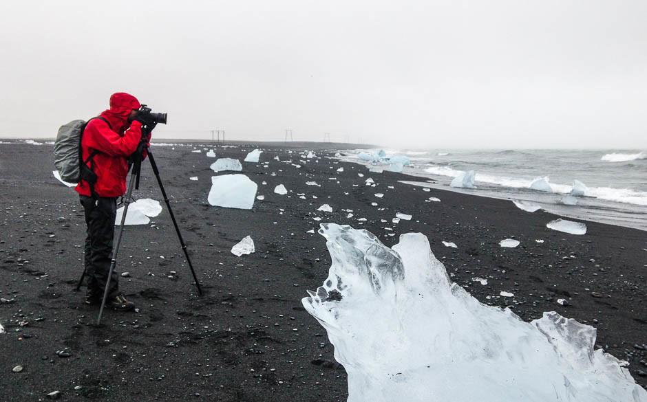 Pose longue en Islande - © Damien Roué
