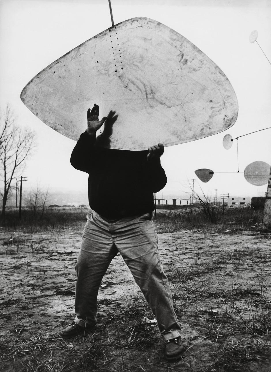 Ugo Mulas, Alexander Calder, Roxbury, 1964