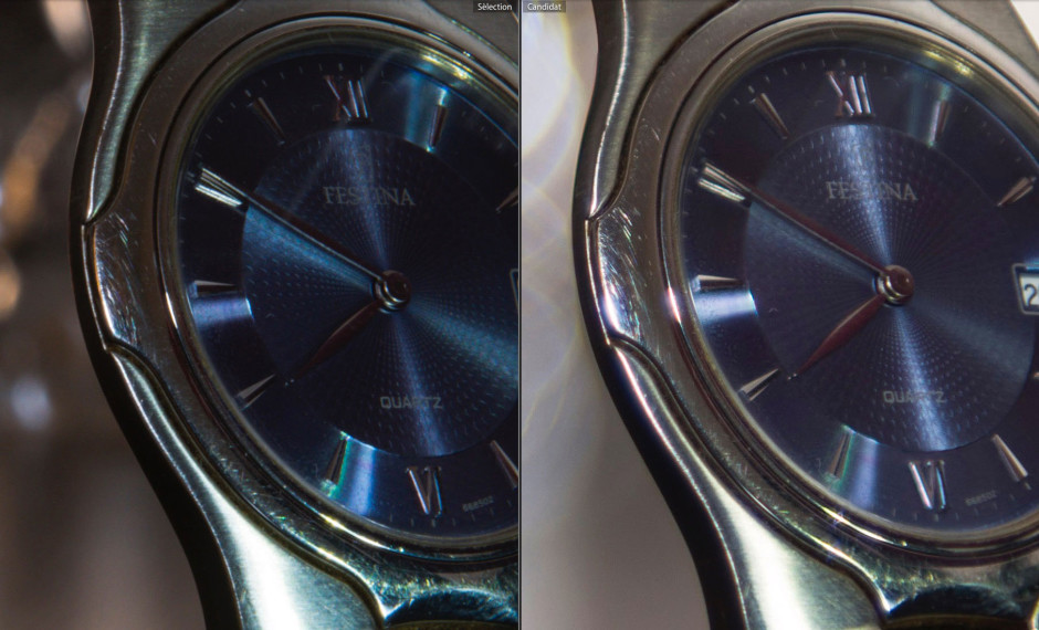 focus stacking montre