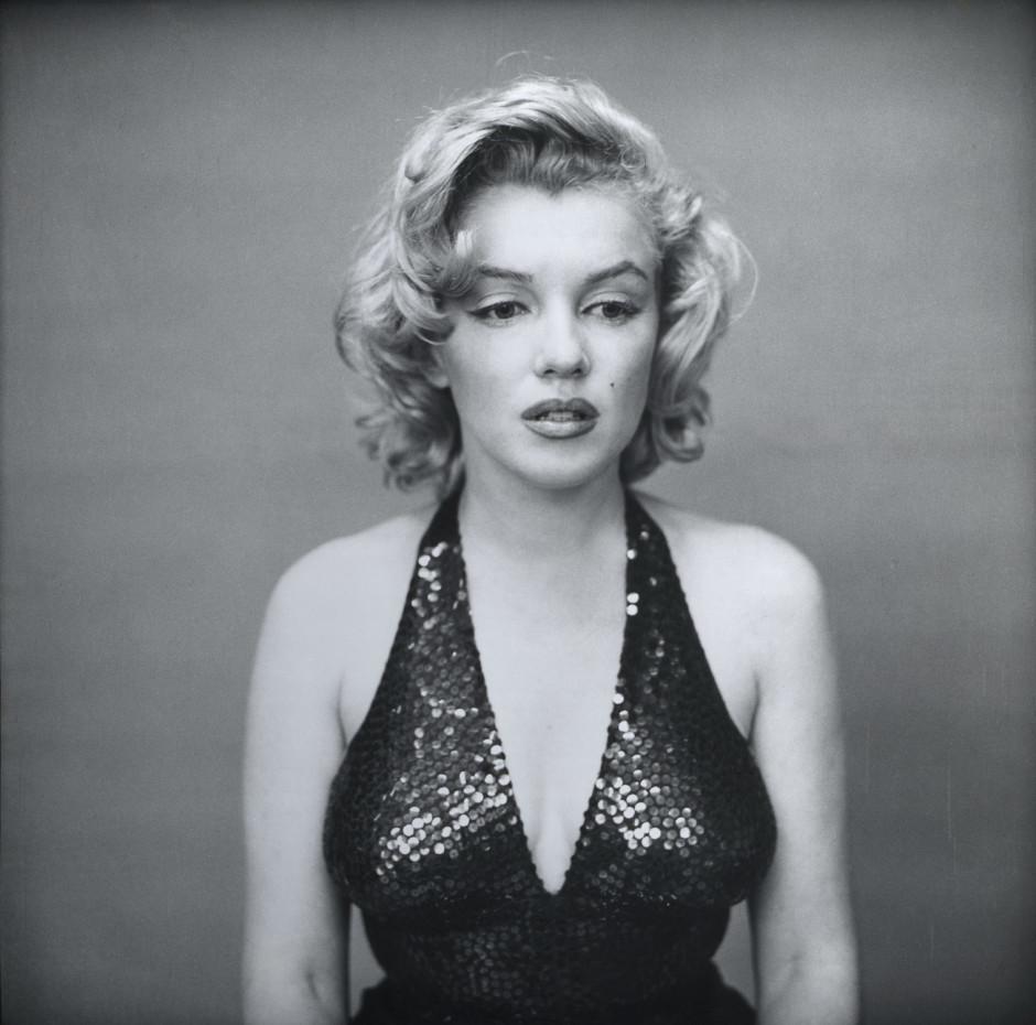 Marilyn Monroe Crédits : Richard Avedon