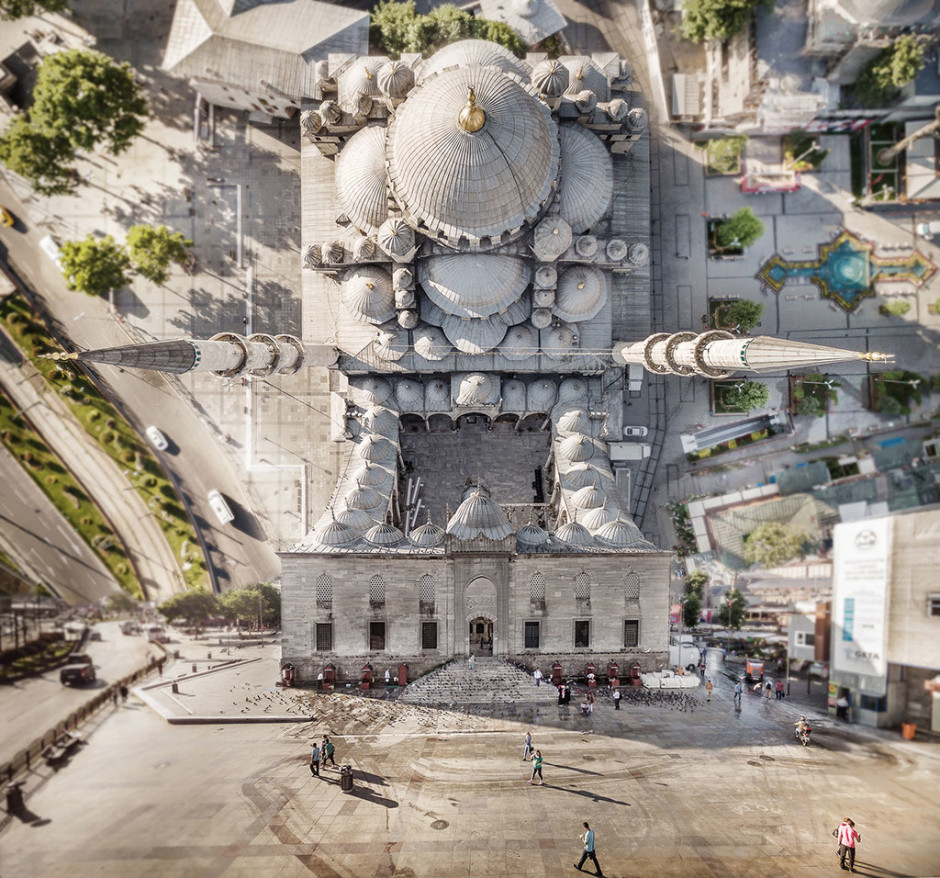 La Mosquée neuve - © Aydin Büyüktas