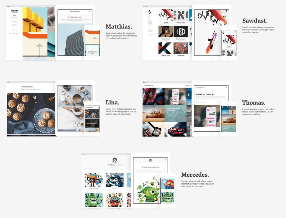 adobe portfolio  un service de portfolio en ligne pour tous les abonn u00e9s creative cloud
