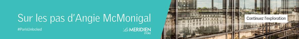 Méridien #parisunlocked homepage