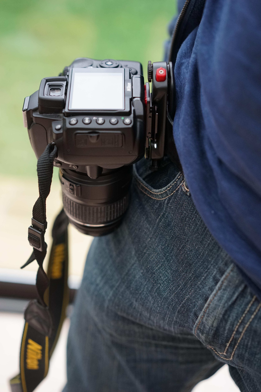 La Capture Pro de Peakdesign sur la ceinture