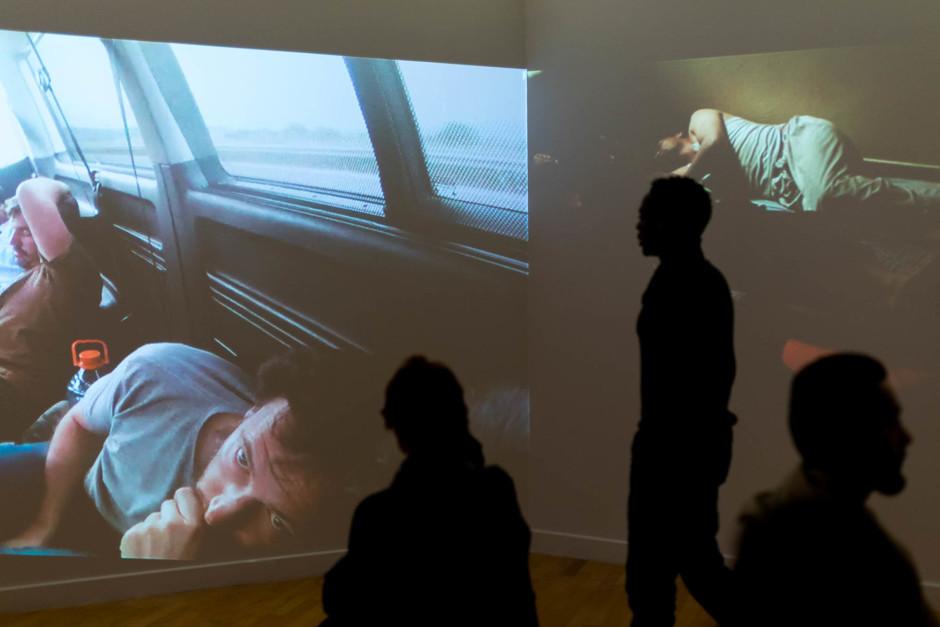 Exposition photo l'Odyssée de l'errance - © Damien Roué