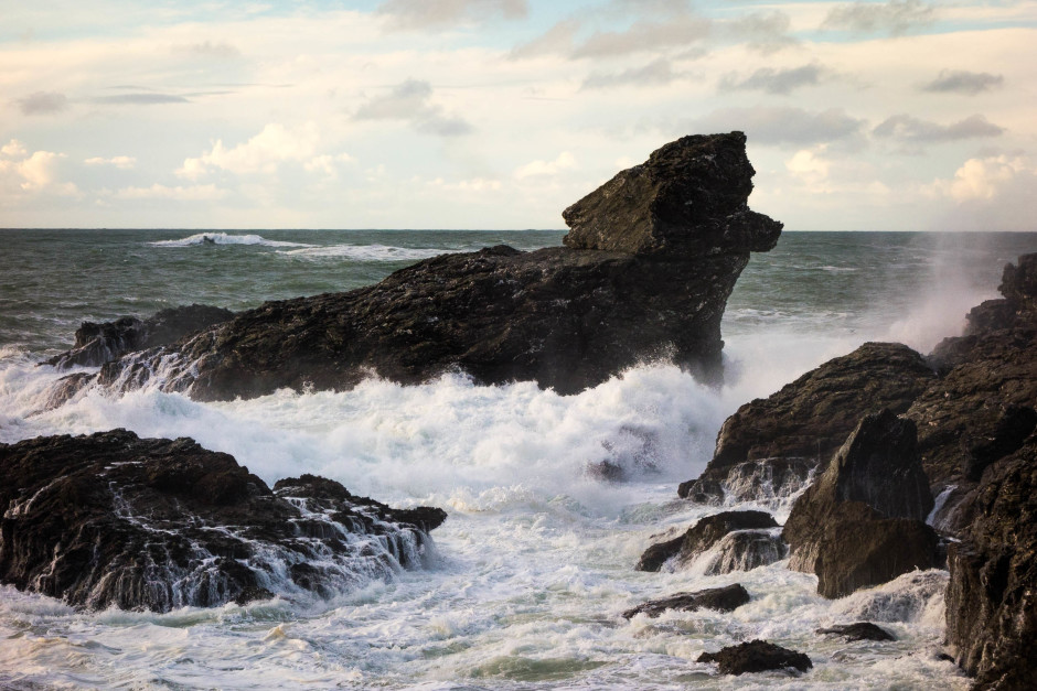 Décembre 2013, Belle-Ile en Mer - © Damien Roué