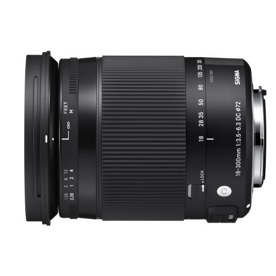 Sigma Objectif 18-300 mm f3.5-6.3 DC Macro OS HSM