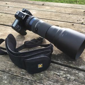 L'objectif à 150mm