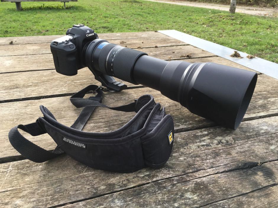 L'objectif à 600mm