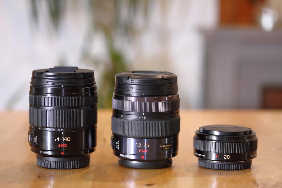 3 objectifs Lumix pour le Panasonic GX8