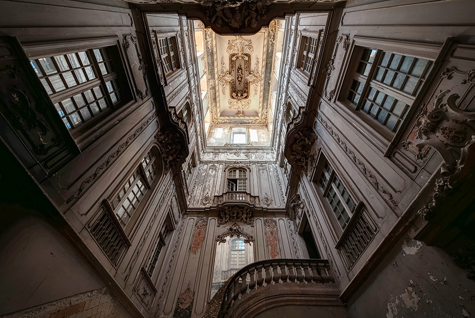 Palais d'un dictateur abandonné, Portugal 2015 - © Francis Meslet
