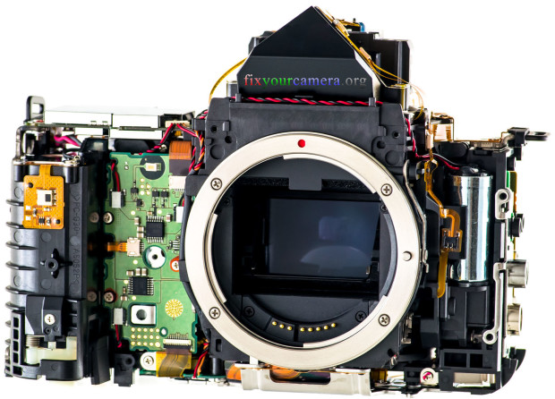 Canon 5D mkiii 050 Disassembly Teardown & Review