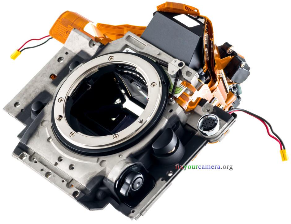 Cage du miroir du Nikon D4