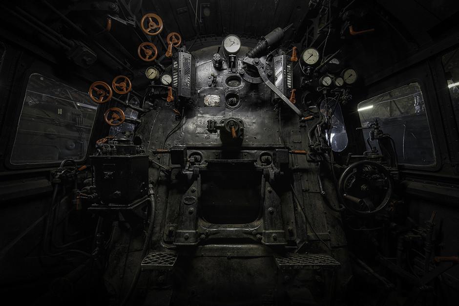Cimetière de locomotives, Allemagne 2015 - © Francis Meslet