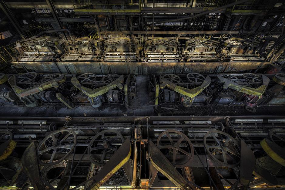 Lavoir à charbon abandonné, France 2015 - © Francis Meslet