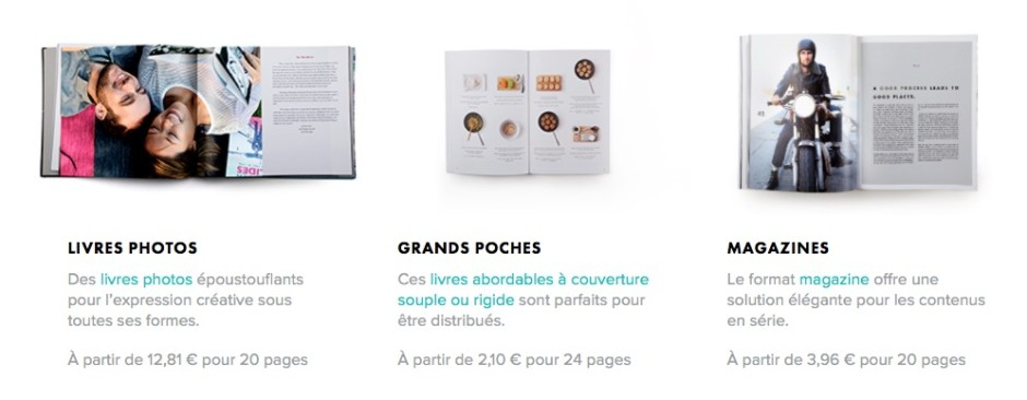 Livres photo Blurb