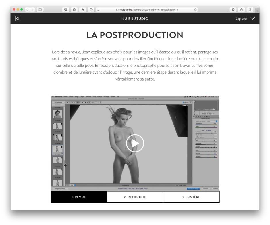 Postproduction nu en studio