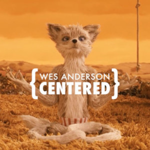 Wes Anderson centered