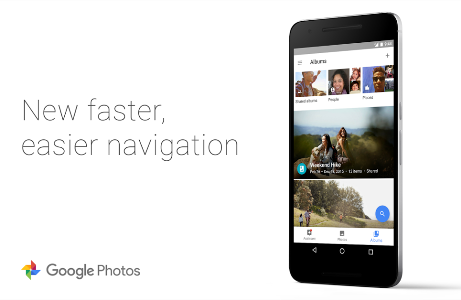 nav-update google photos