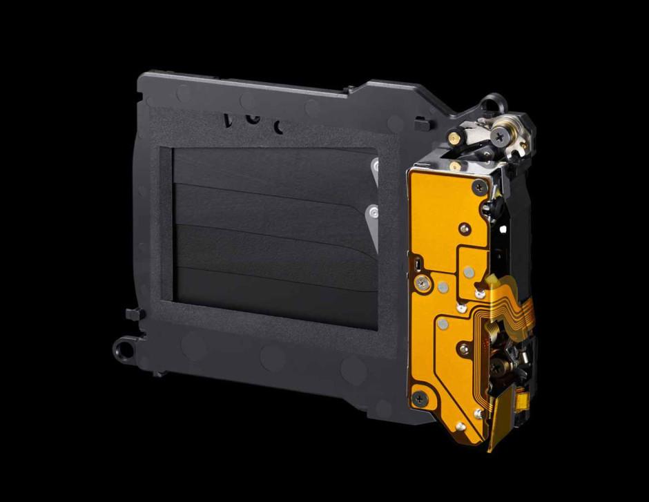 L'obturateur mécanique du Sony A7