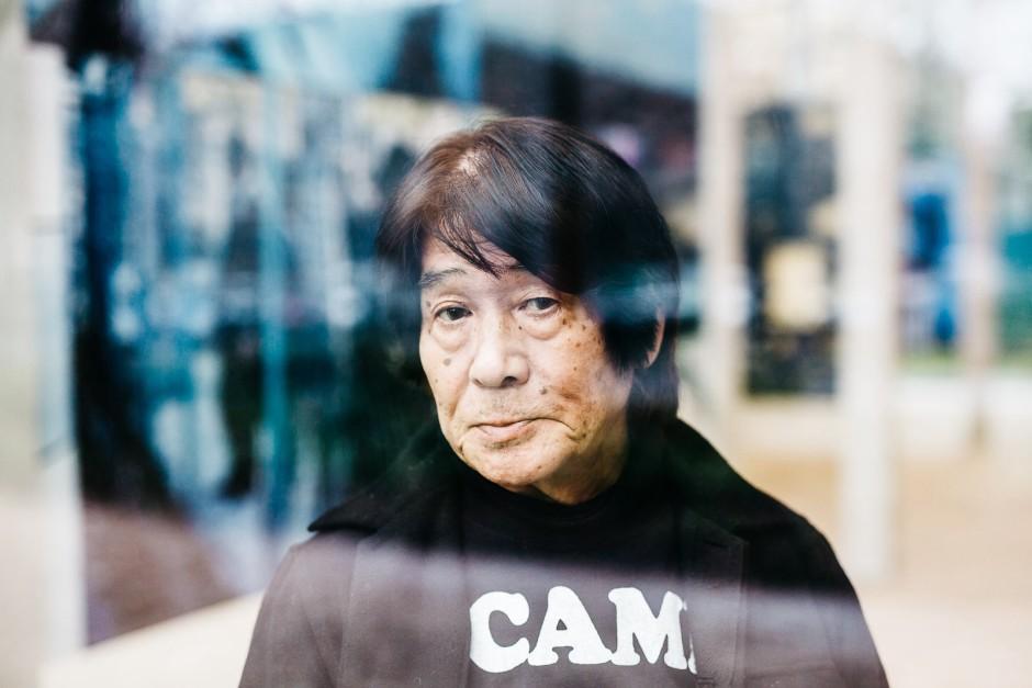 Le photographe Daido Moriyama à la Fondation Cartier. Février 2016. Pierre Morel pour Lumento