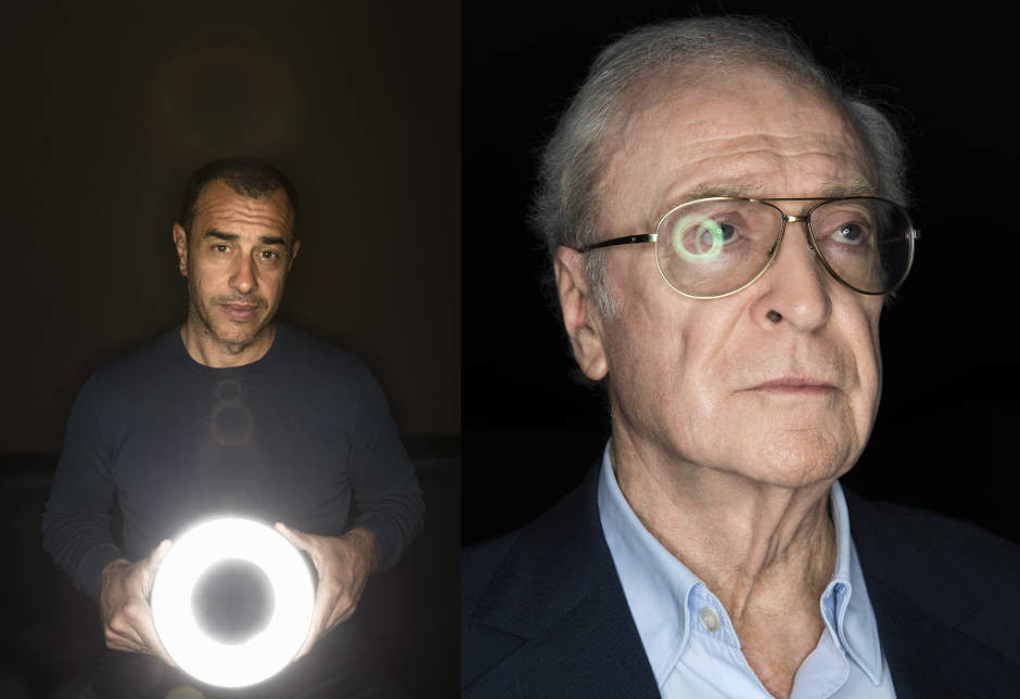 Matteo Garrone / Michael Caine - © Sébastien Vincent