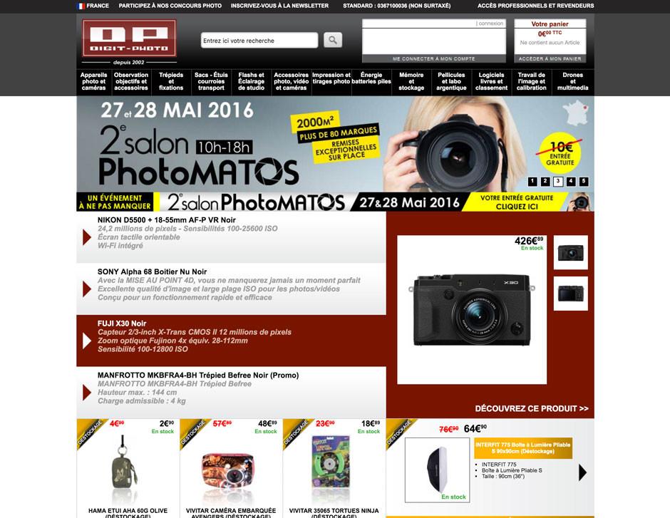Page d'accueil de Digit-Photo.com