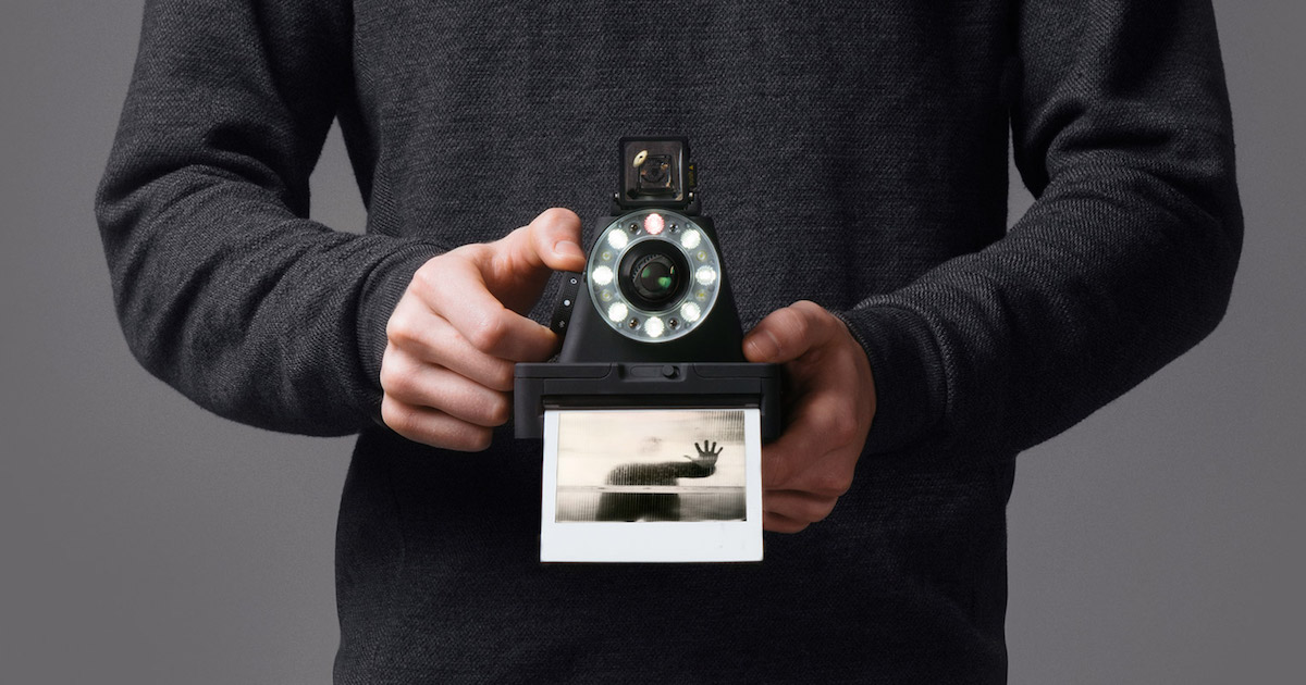 The Impossible Project lance le I-1, son appareil photo Polaroid connecté 6a819c34ecd3