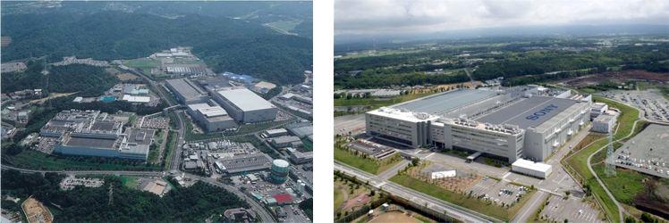 Sony Kumamoto and Nagasaki plants