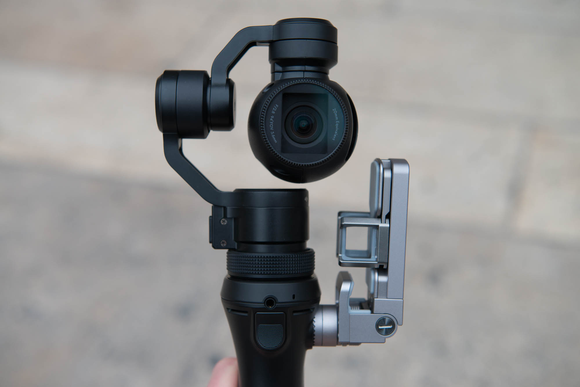 Test DJI Osmo Camera Stabilisee Portable 4K