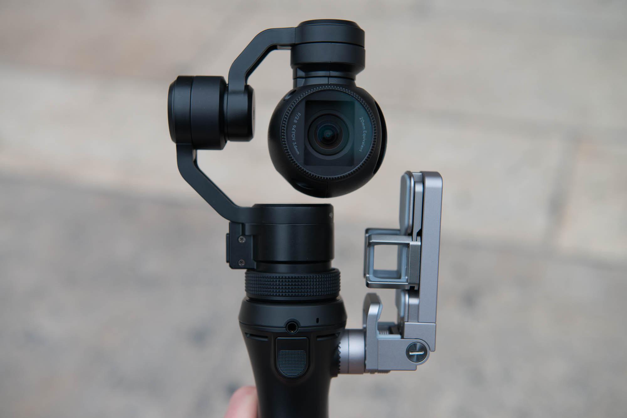 Test DJI Osmo Camera Stabilisee Portable 4K