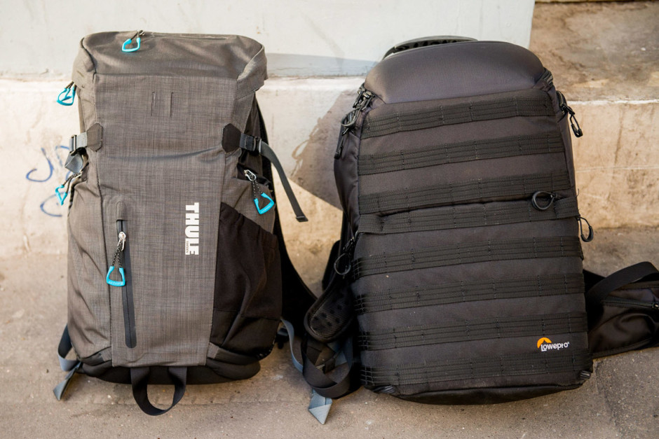 Thule Perspektiv Daypack vs Lowepro ProTactic 450 AW