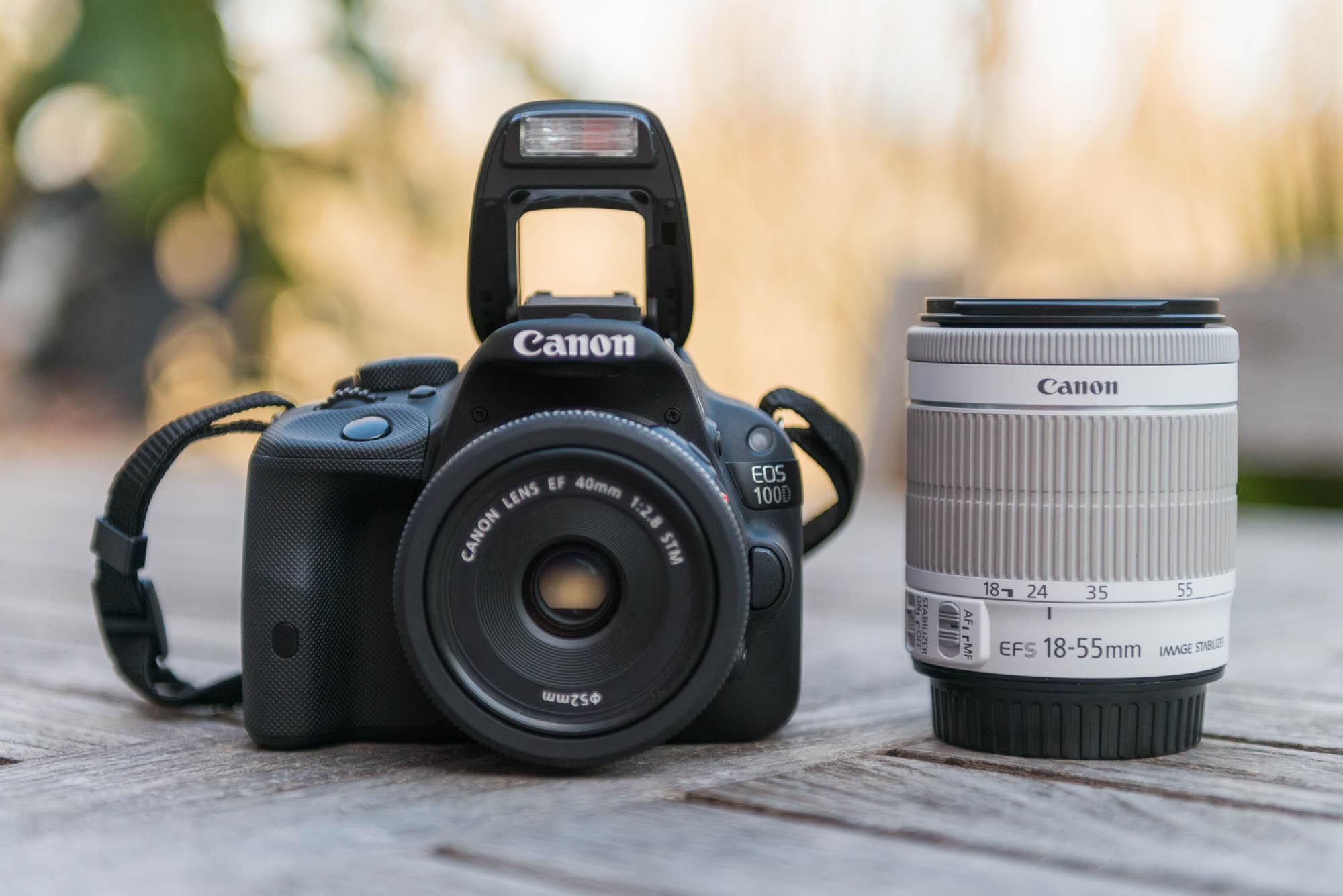 Flash intégré du Canon 100D