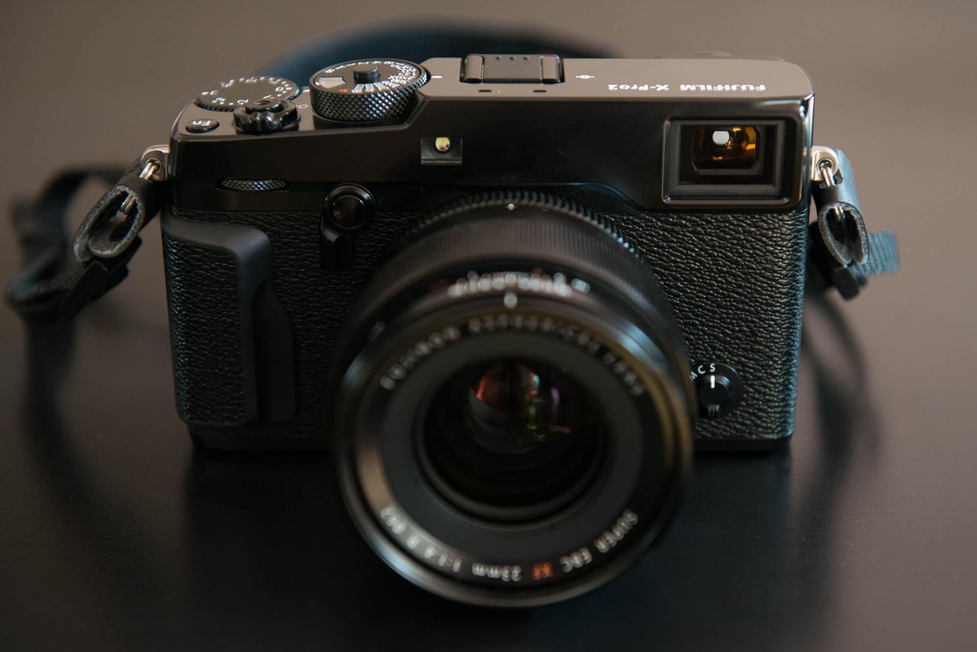 Fuji X-Pro 2 avec le XF 23mm f/1.4 R